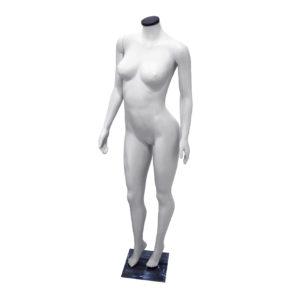 maniqui dama pose plastica importada blanca