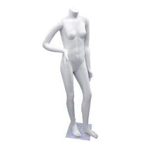 maniqui adolescente plastico blanco