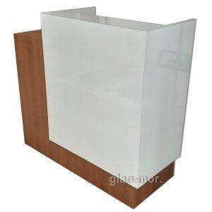 mostrador caja laminado